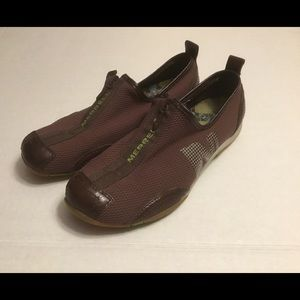 Merrell Barrado Espresso Brown Slip On Sneakers